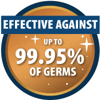 CopperTouch is effective against up to 99.95% of germs and viruses